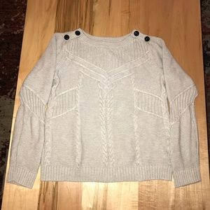 Light gray sweater